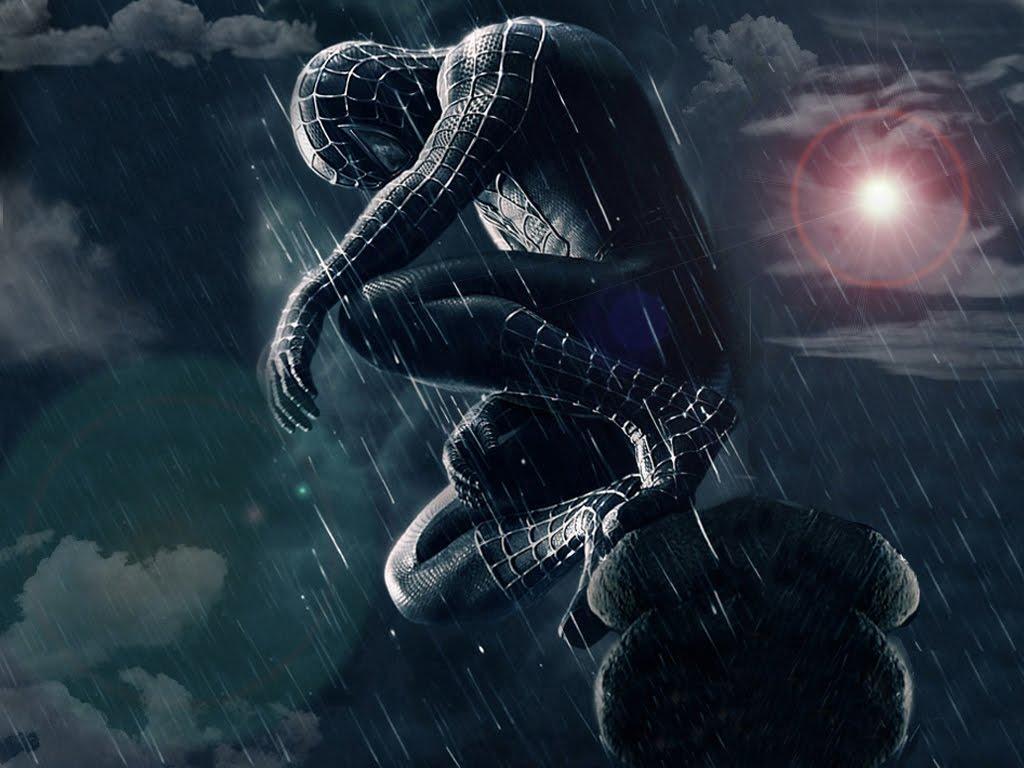 Black Spider Man Wallpapers Wallpaper Cave
