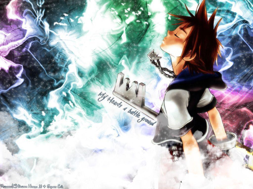 Wallpapers For > Kingdom Hearts Wallpapers Hd Sora