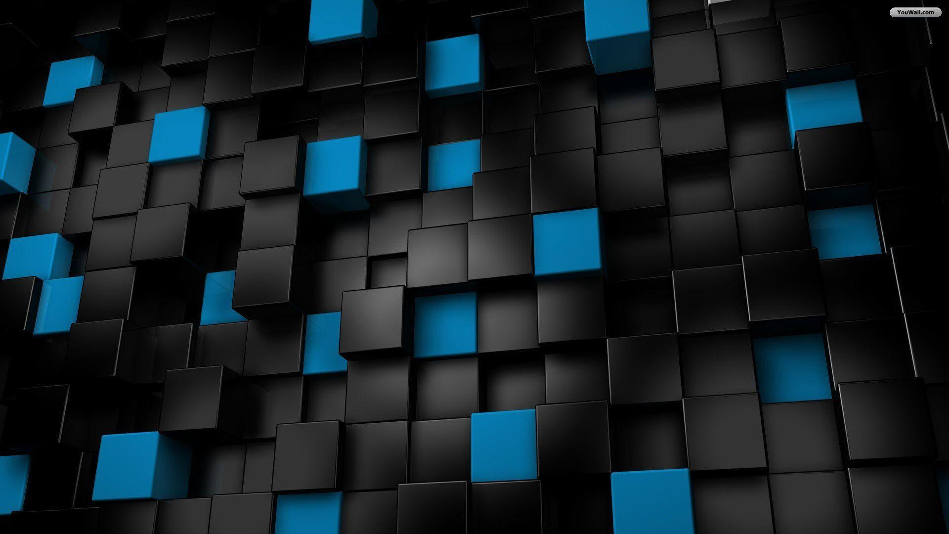 Black And Blue Wallpapers - Wallpaper Cave