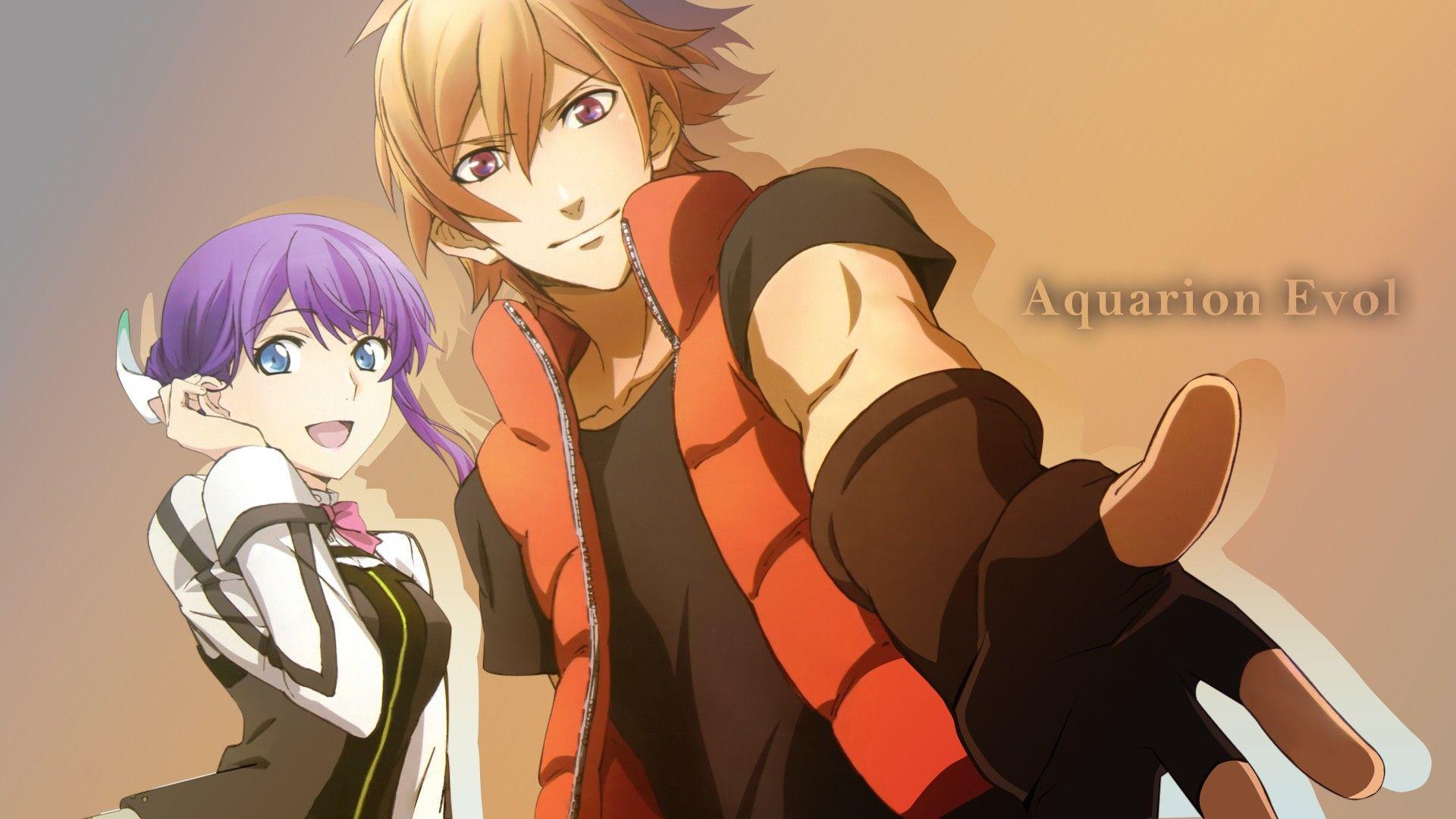 download anime aquarion evol