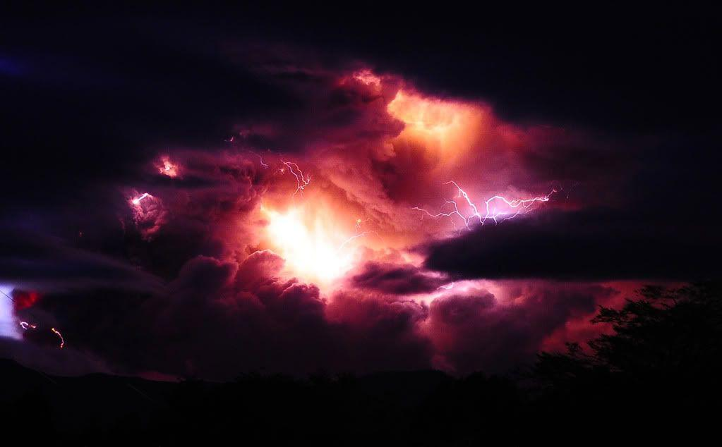 Volcano Lightning Wallpapers | HD Wallpapers Base