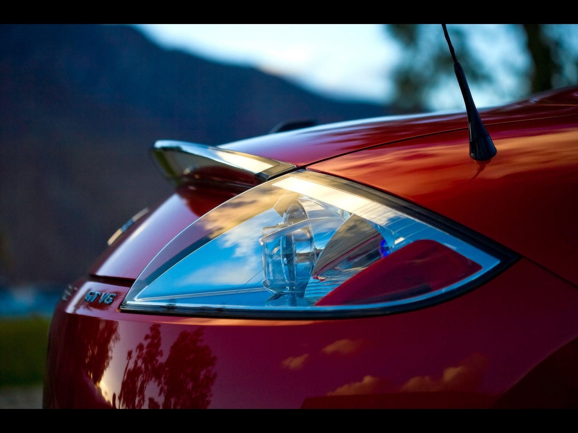 2009 Mitsubishi Eclipse Spyder gt Rear Light Wallpapers