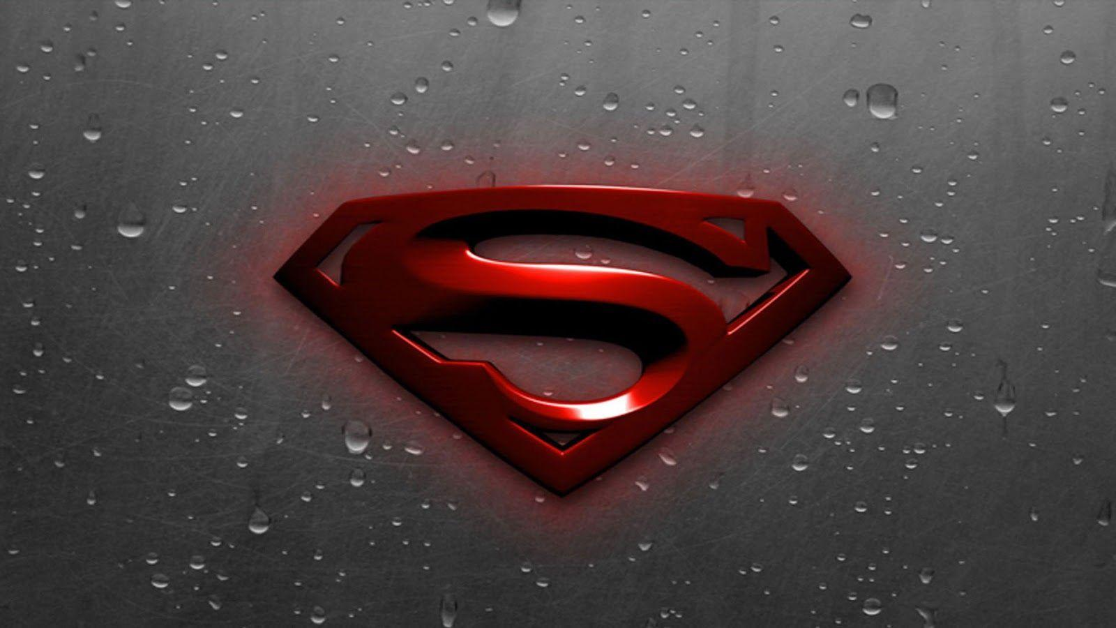 Superman Logo Wallpaper | Maceme Wallpaper
