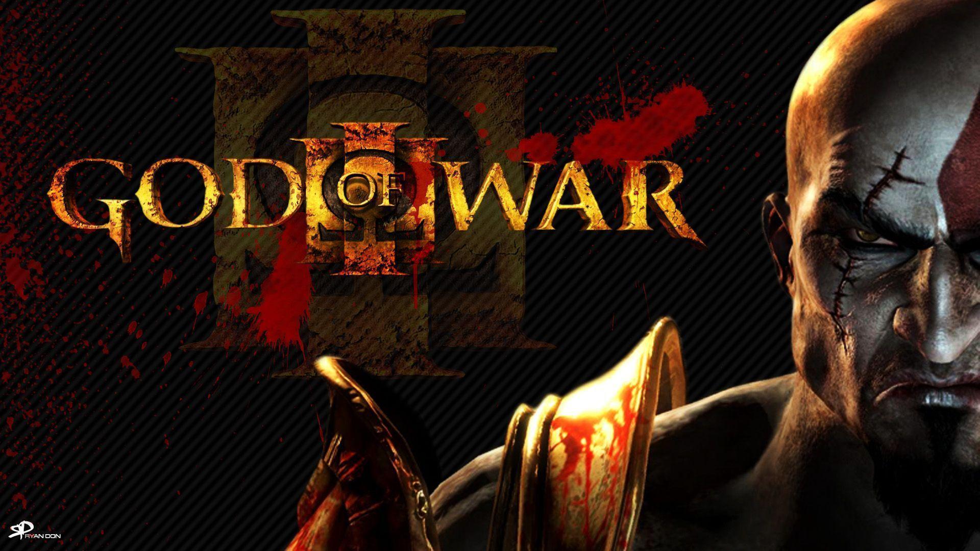 God of War III - Kratos Wallpaper