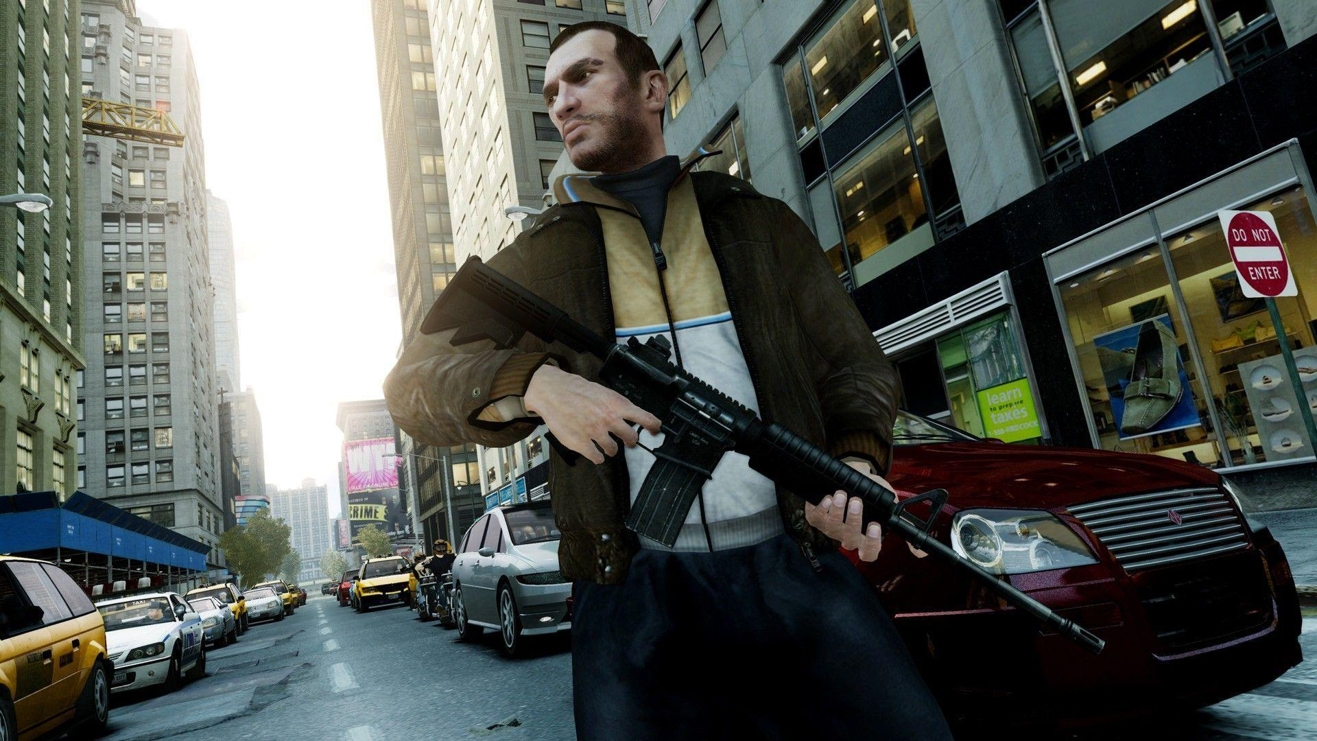 GTA 4  Grand Theft Auto IV in style V v4 2014 PC