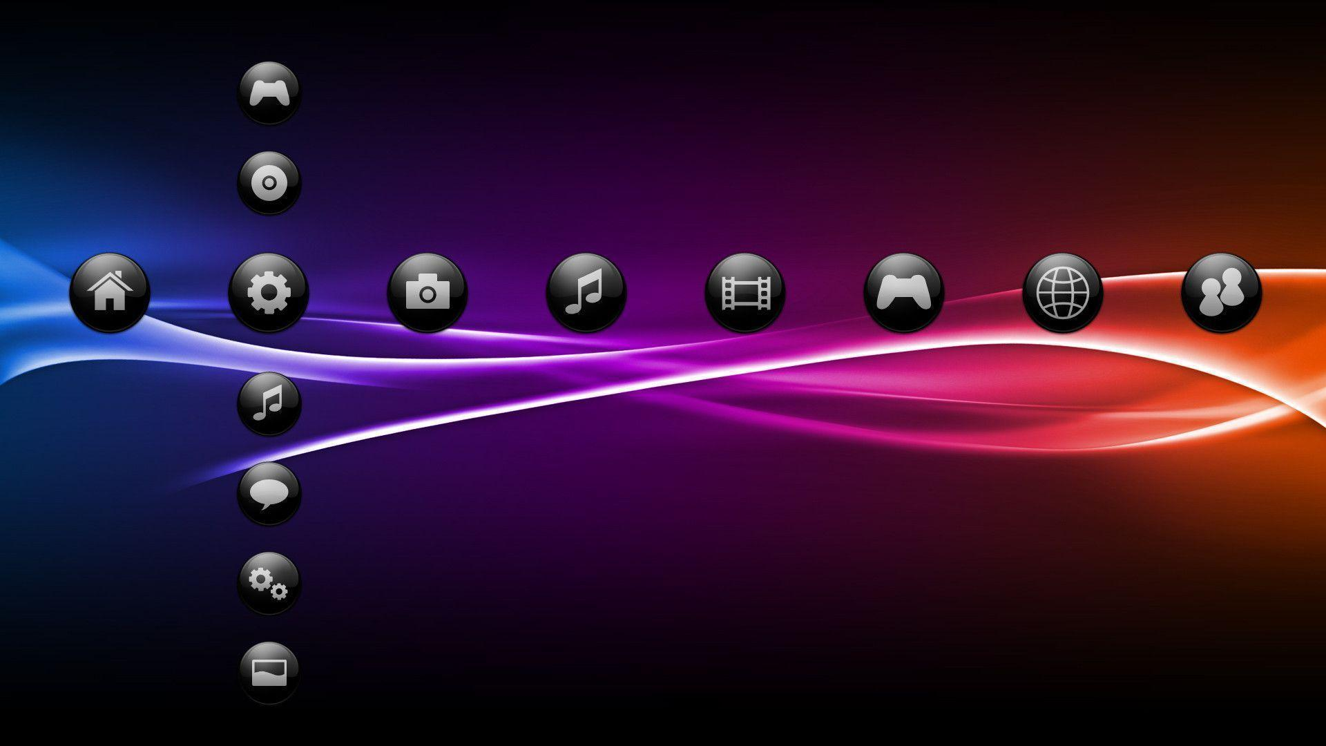 Neon theme for PS3 by JyriK