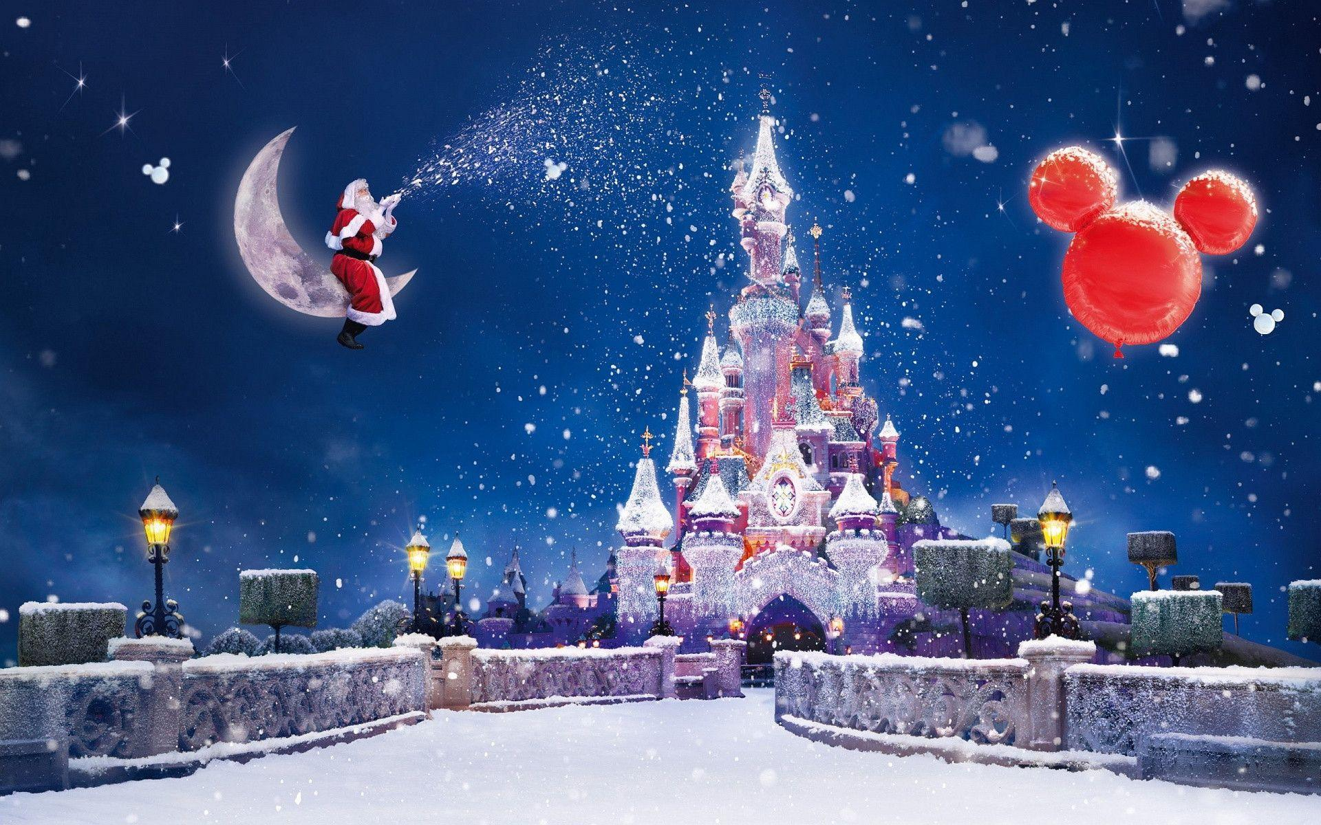 Christmas Disney Wallpaper Hd : Disney christmas backgrounds wallpaper cave