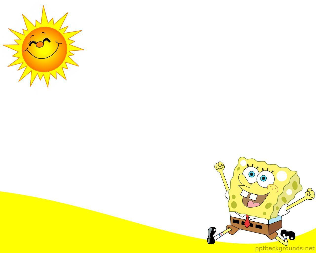 spongebob powerpoint template sponge bob backgrounds wallpaper cave