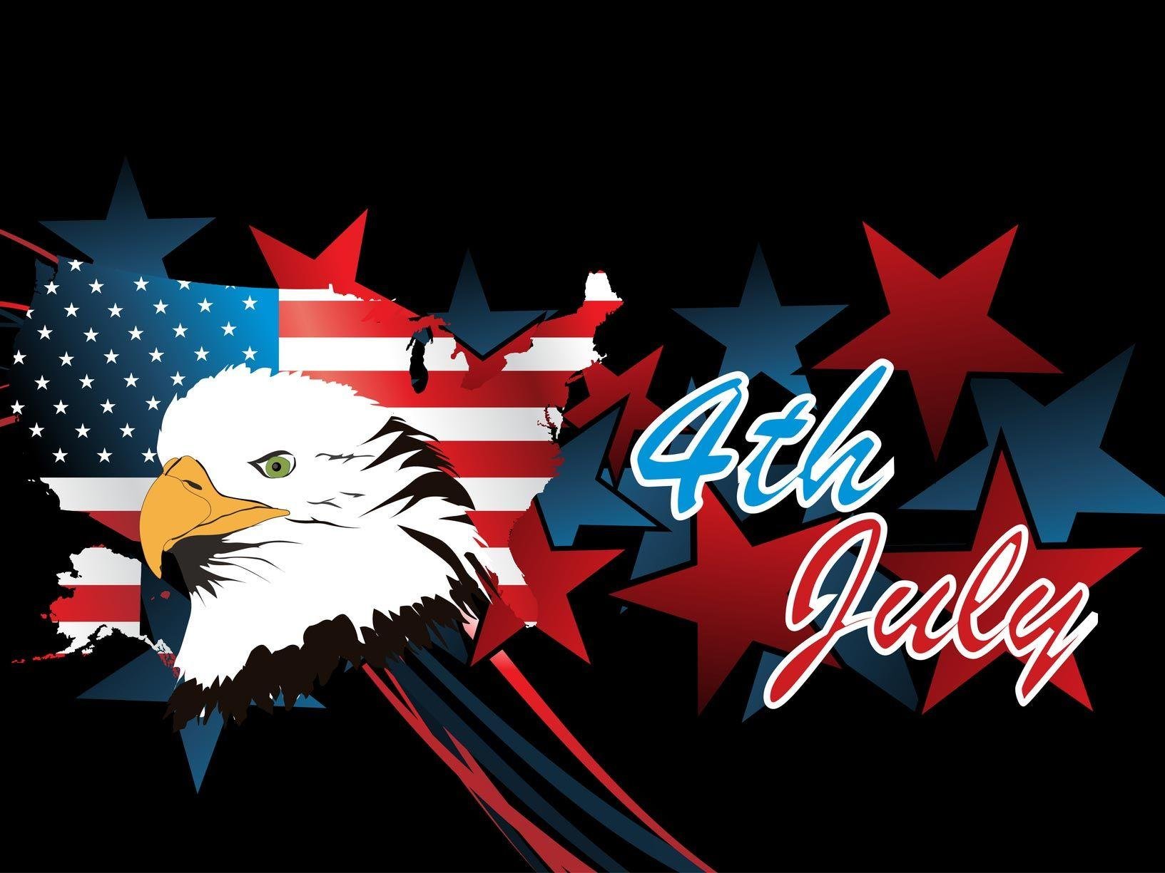 4th July Independence Day 2013 Free Vector Downloads, Stock Graphics