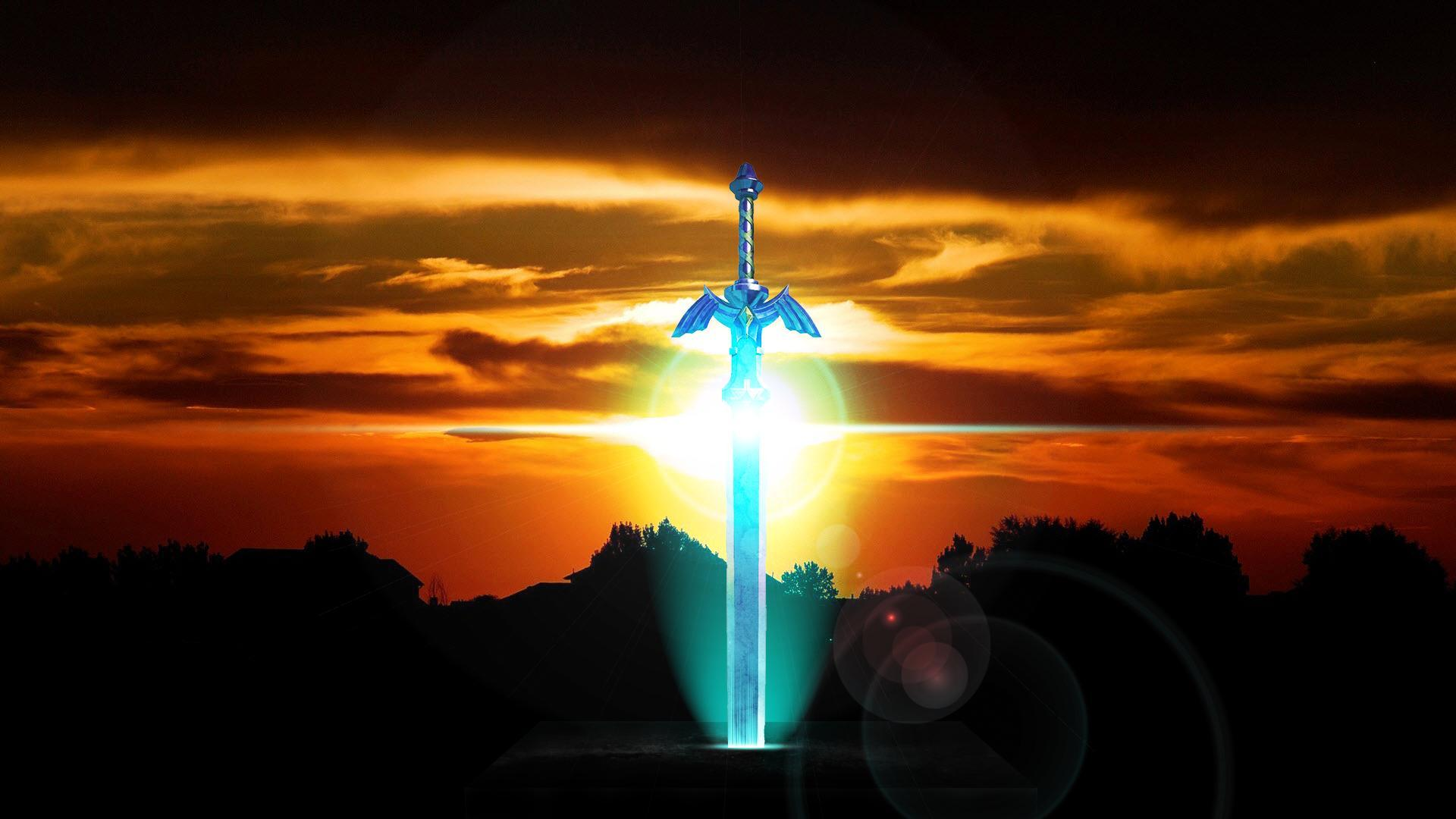 Wallpapers For > Master Sword Wallpaper