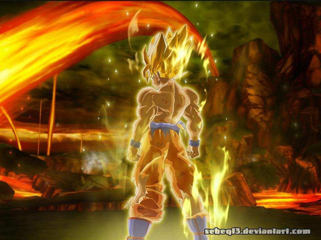 Dragon Ball Z Goku Wallpapers - Wallpaper Cave