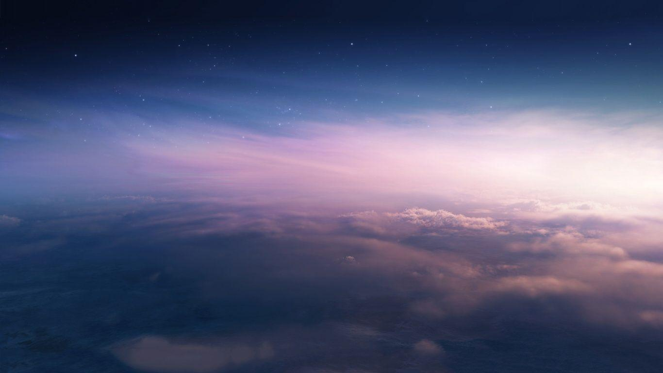 1366x768 Space earth stratosphere Wallpapers