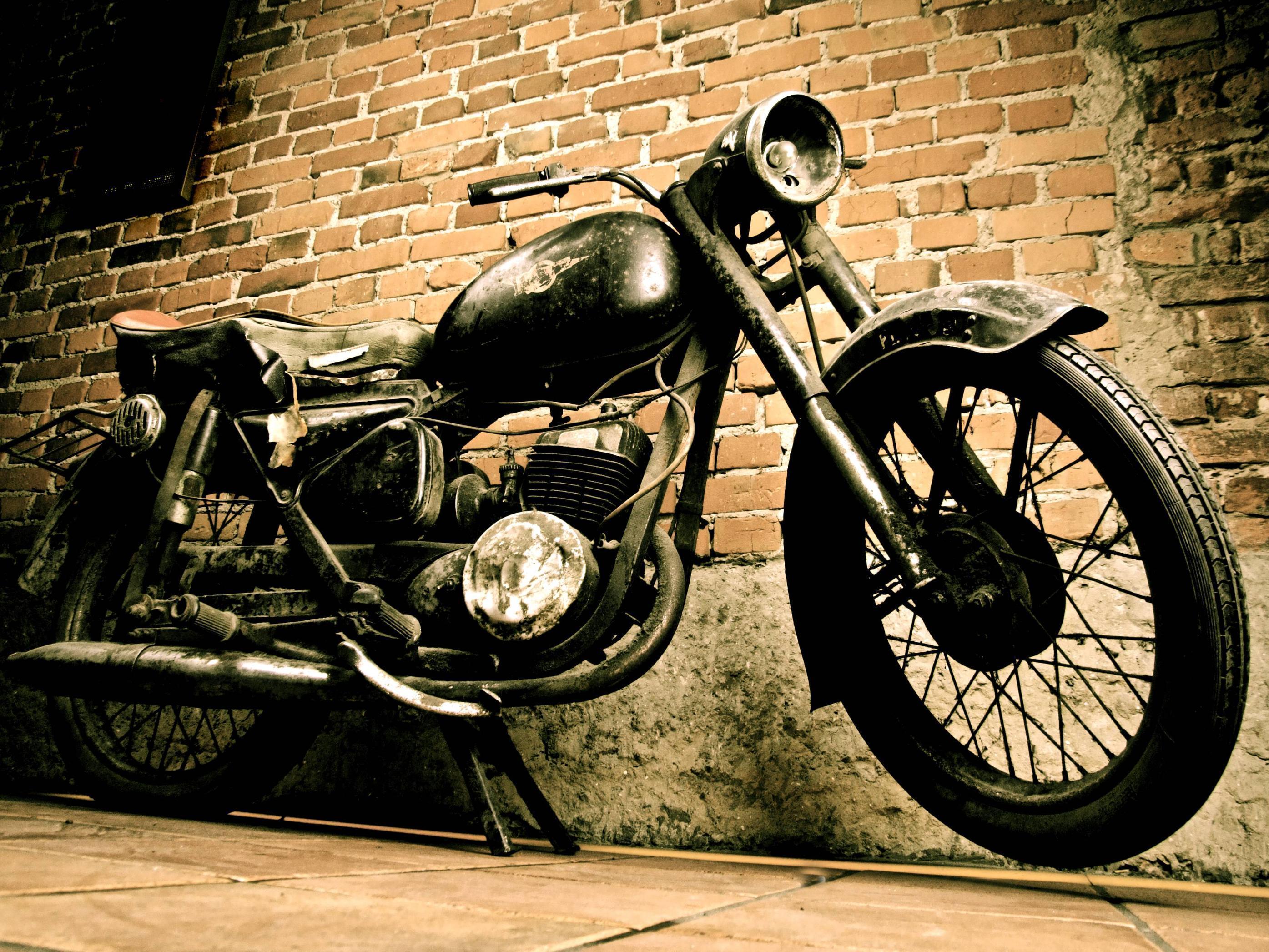 Vintage Motorcycle Wallpapers  Wallpaper Cave