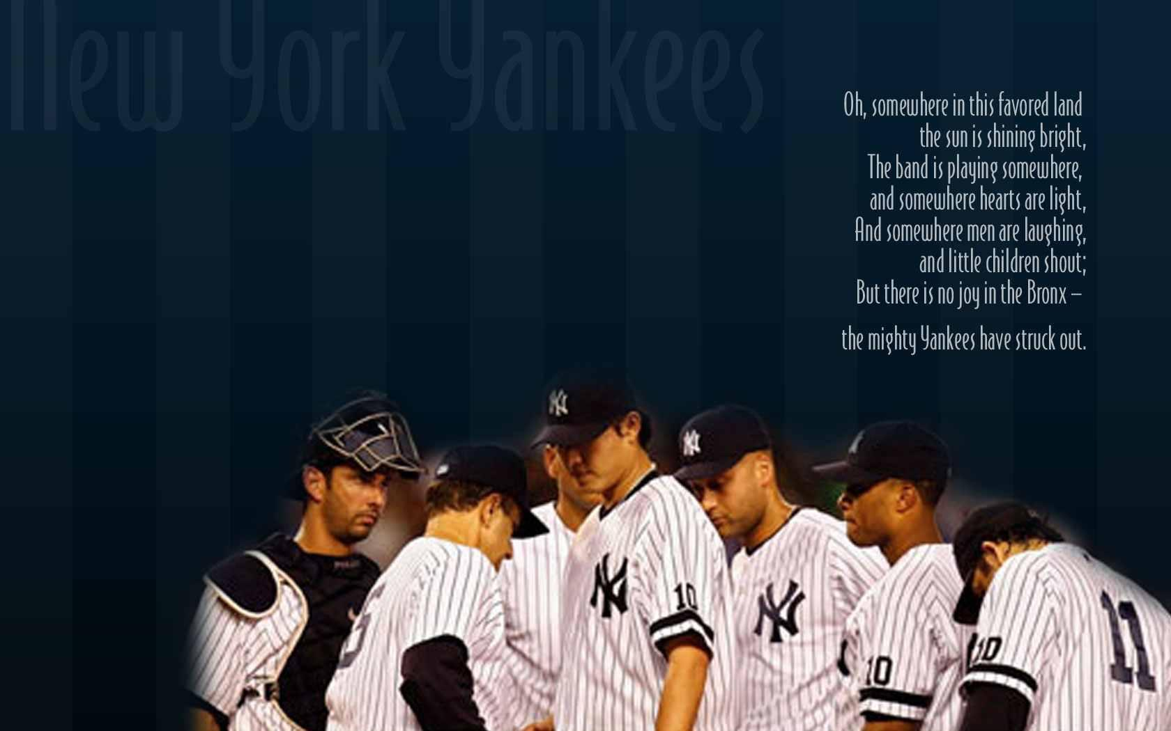 New York Yankees Desktop Wallpapers Wallpaper Cave