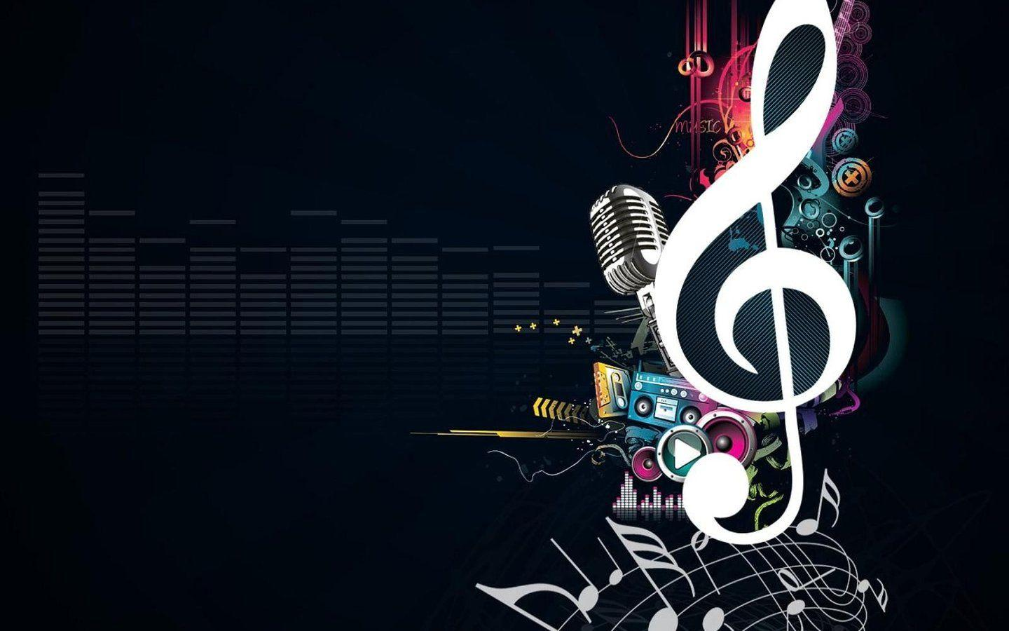 HD Wallpaper Abstract Music