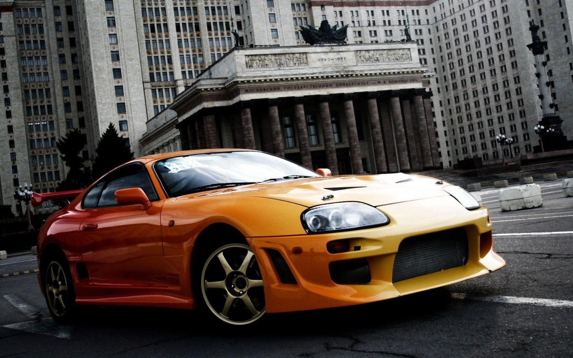 Toyota Supra Wallpapers Wallpaper Cave