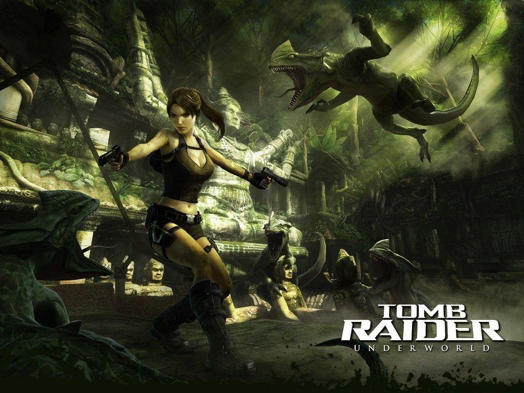 Lara Croft Underworld Wallpapers Wallpaper Cave