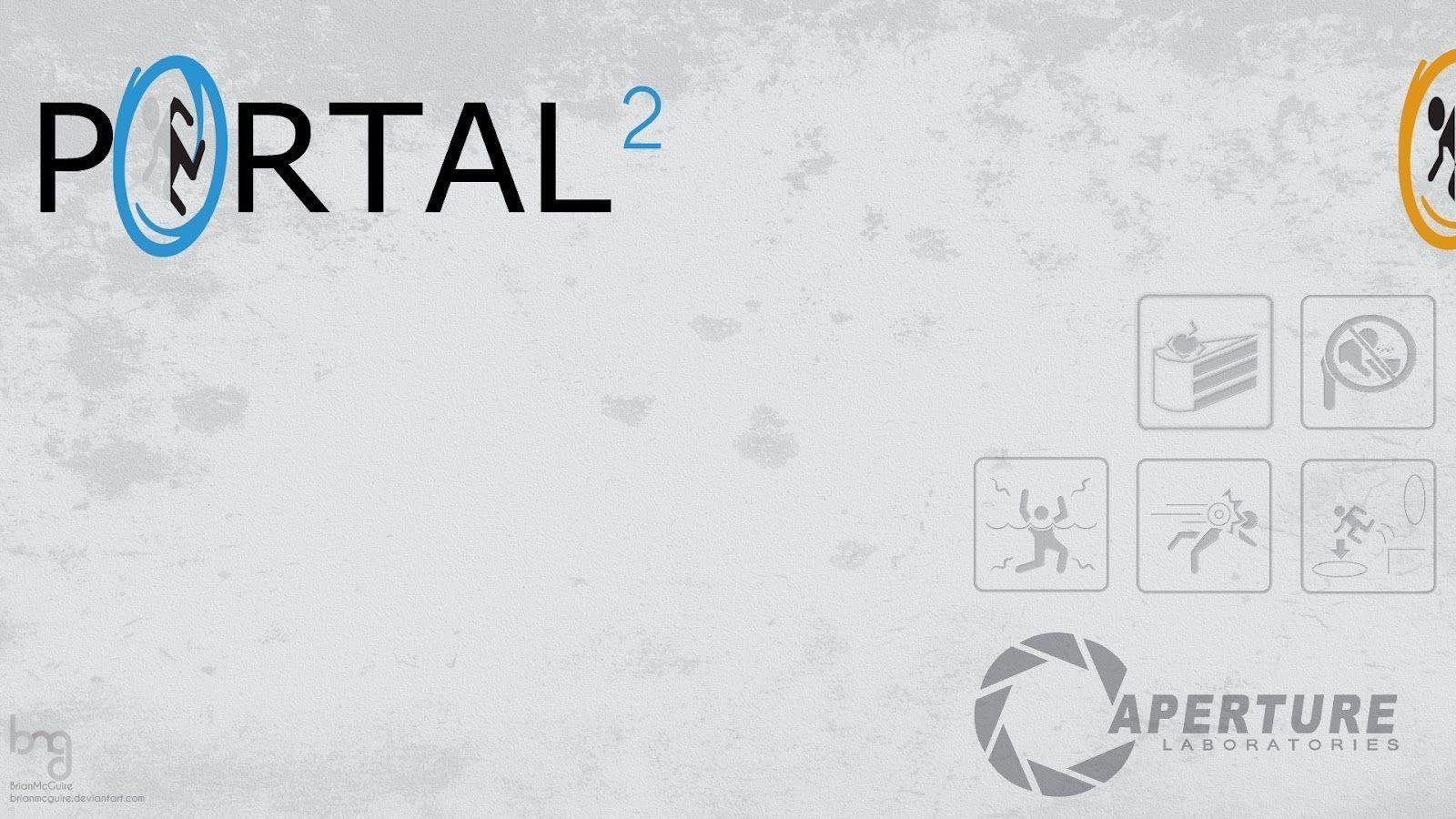 wallpaper: Portal 2 Wallpapers 1080p