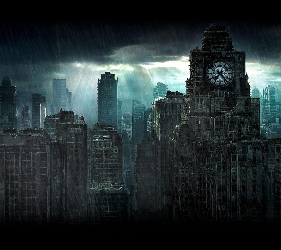 Dark City Android Wallpapers 960x854 Hd Wallpapers Download For