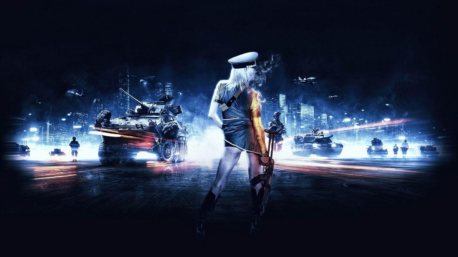 Battlefield 3 girl Games HD Wallpapers