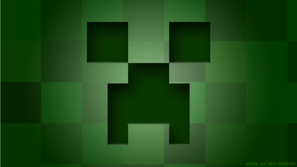 Hd Wallpapers Minecraft Creeper Background 1 HD Wallpapers .