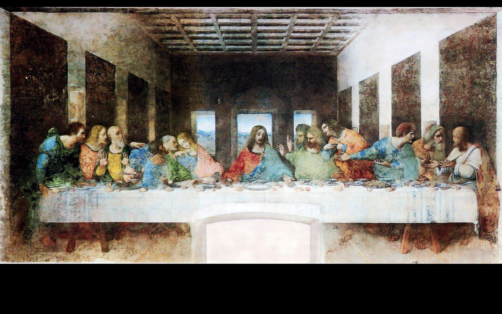 The Last Supper Wallpapers Wallpaper Cave