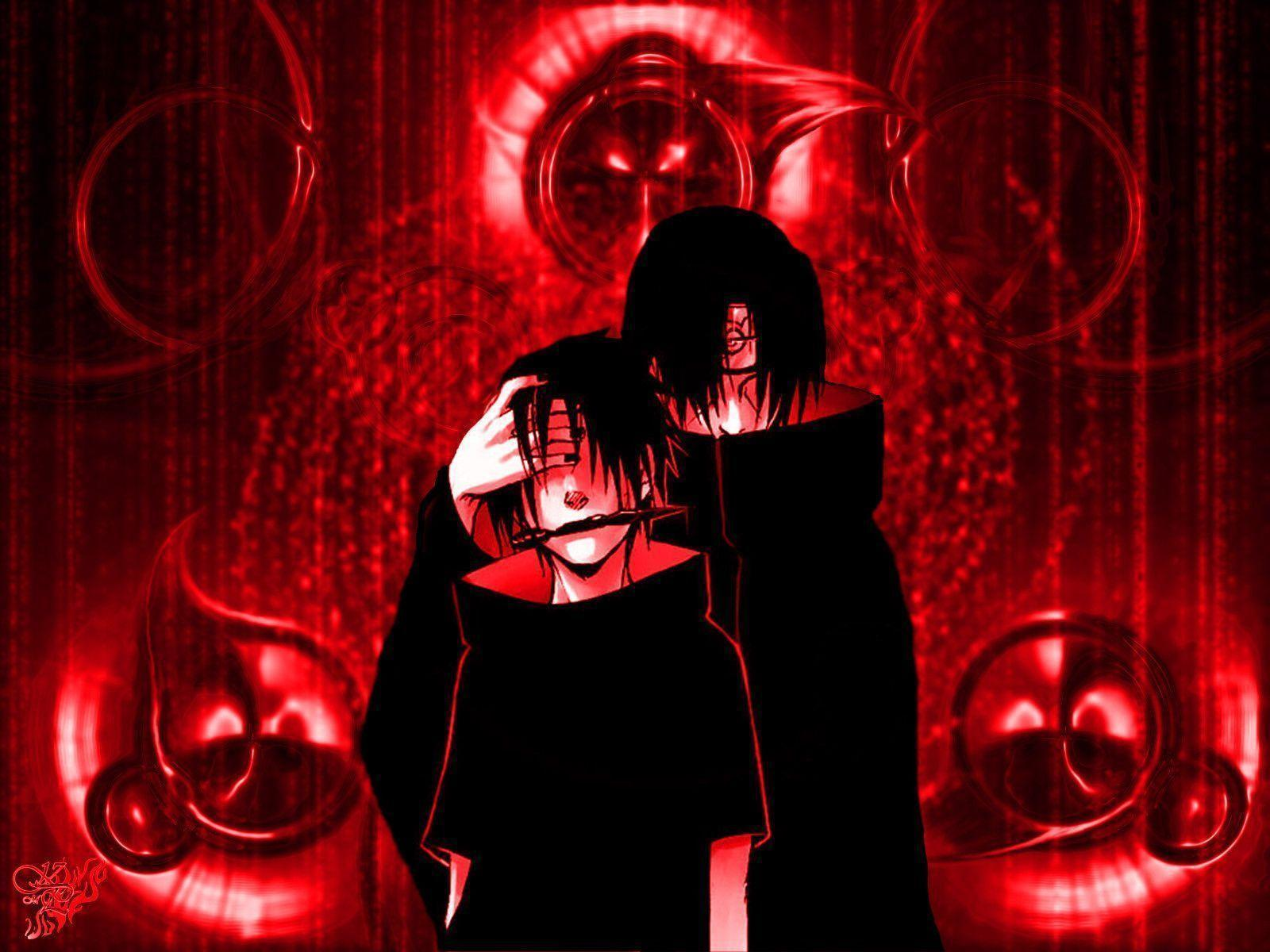 Wallpapers For > Itachi Sharingan Wallpaper Hd