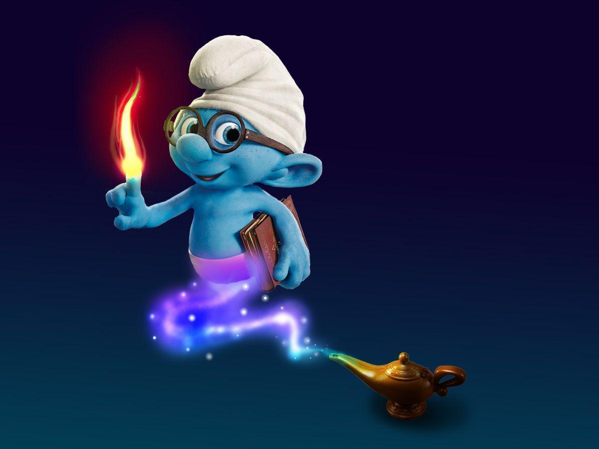 Smurf Wallpapers - Wallpaper Cave