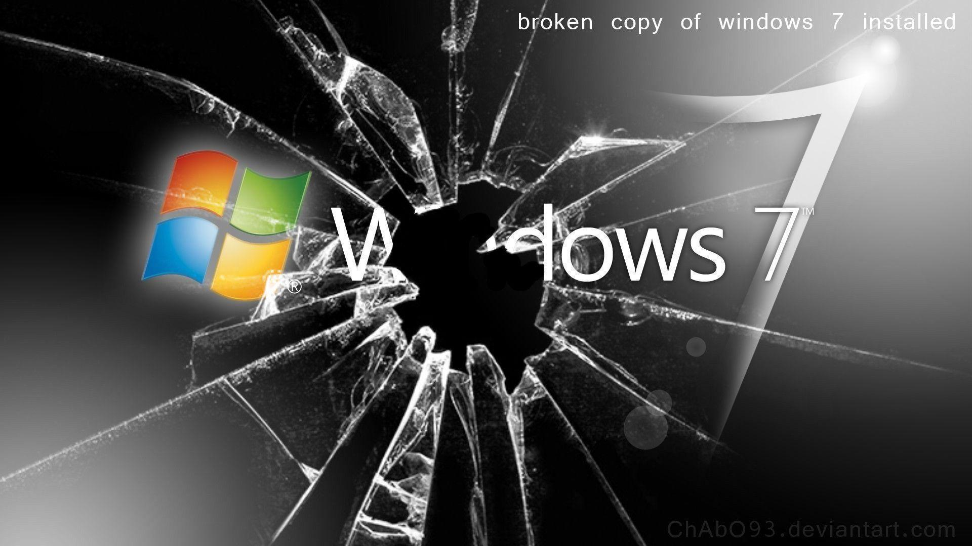 Image For > Broken Glass Window 7