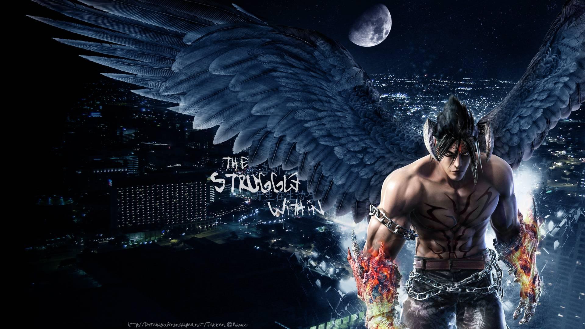 Hd wallpaper cave - Tekken 6 Devil Jin Kazama Hd Wallpaper