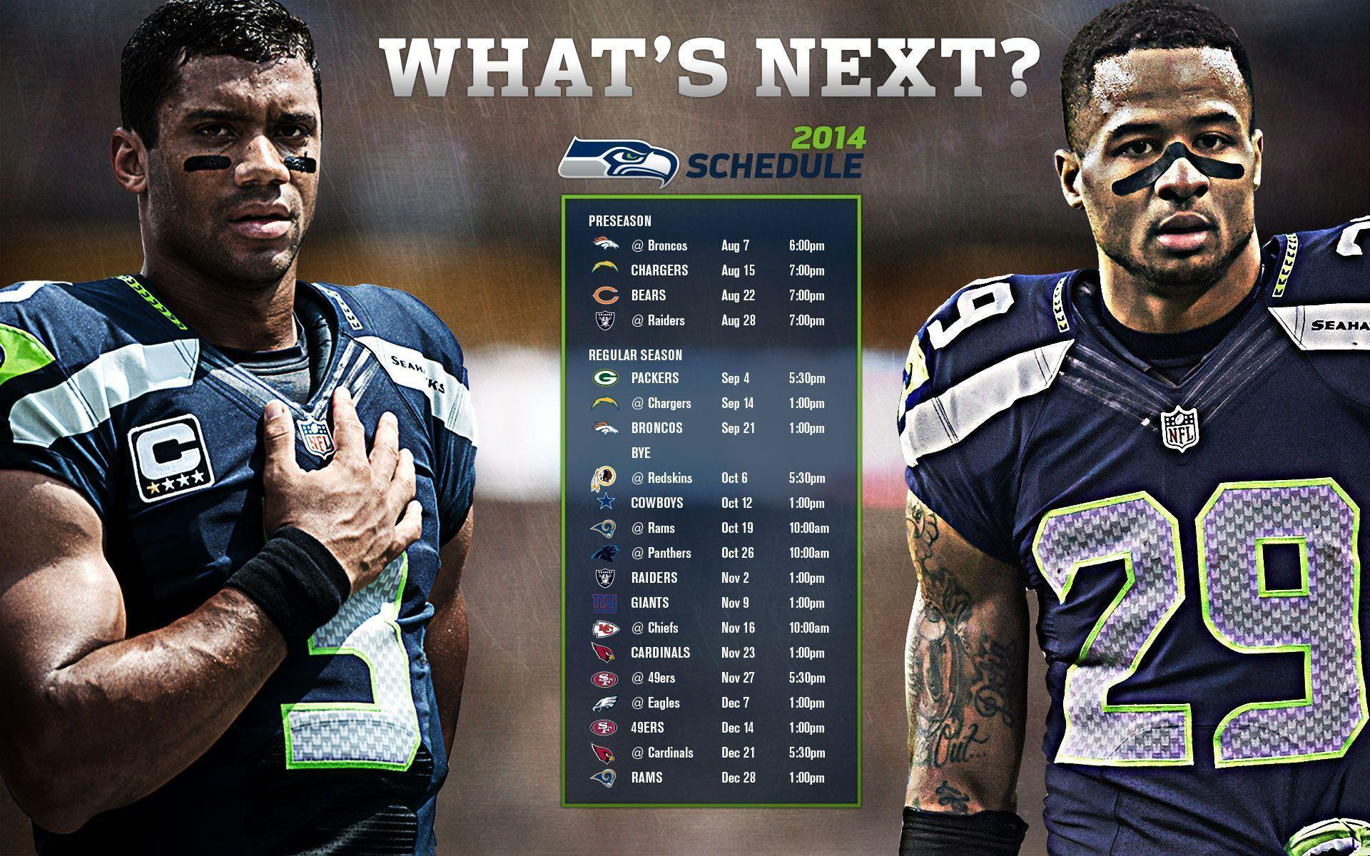 Seahawks kick off NFL schedule against Packers on Sept. 4
