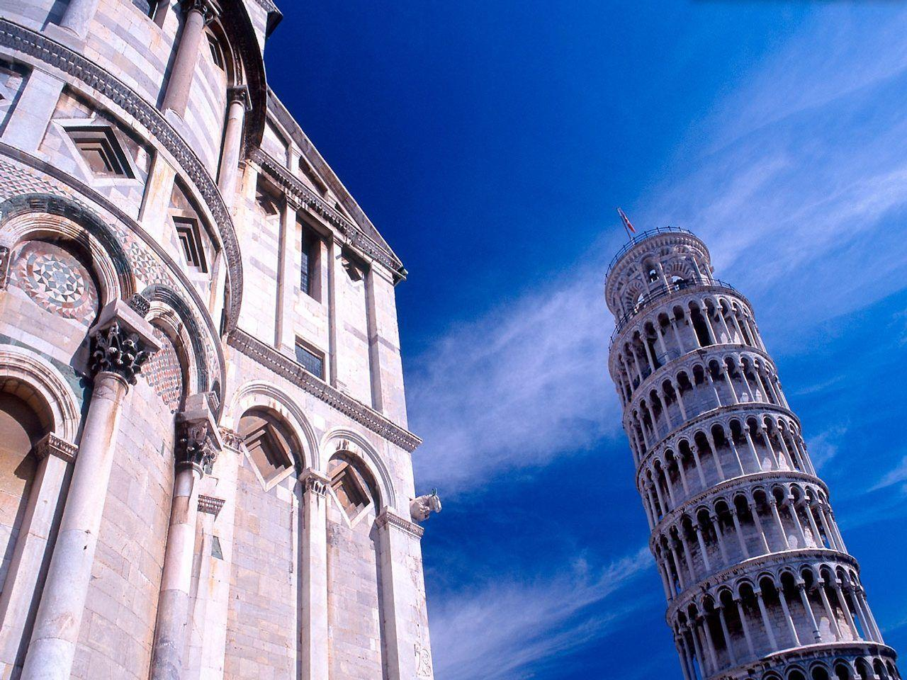 Leaning Tower of Pisa Italy Wallpaper | Travels Wallpapers Gallery ...