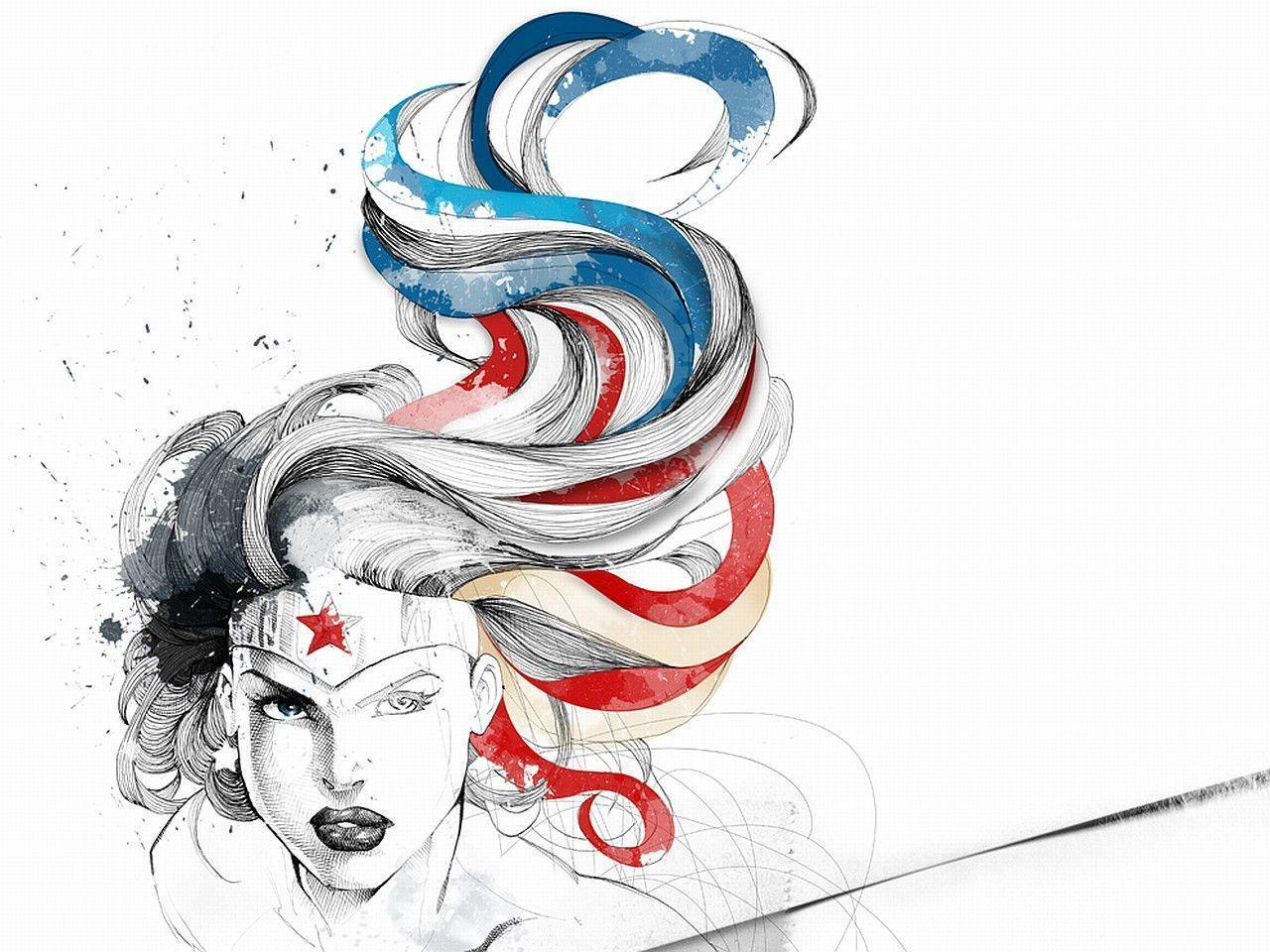 Wonder Woman Computer Wallpapers, Desktop Backgrounds 1280x960 Id ...