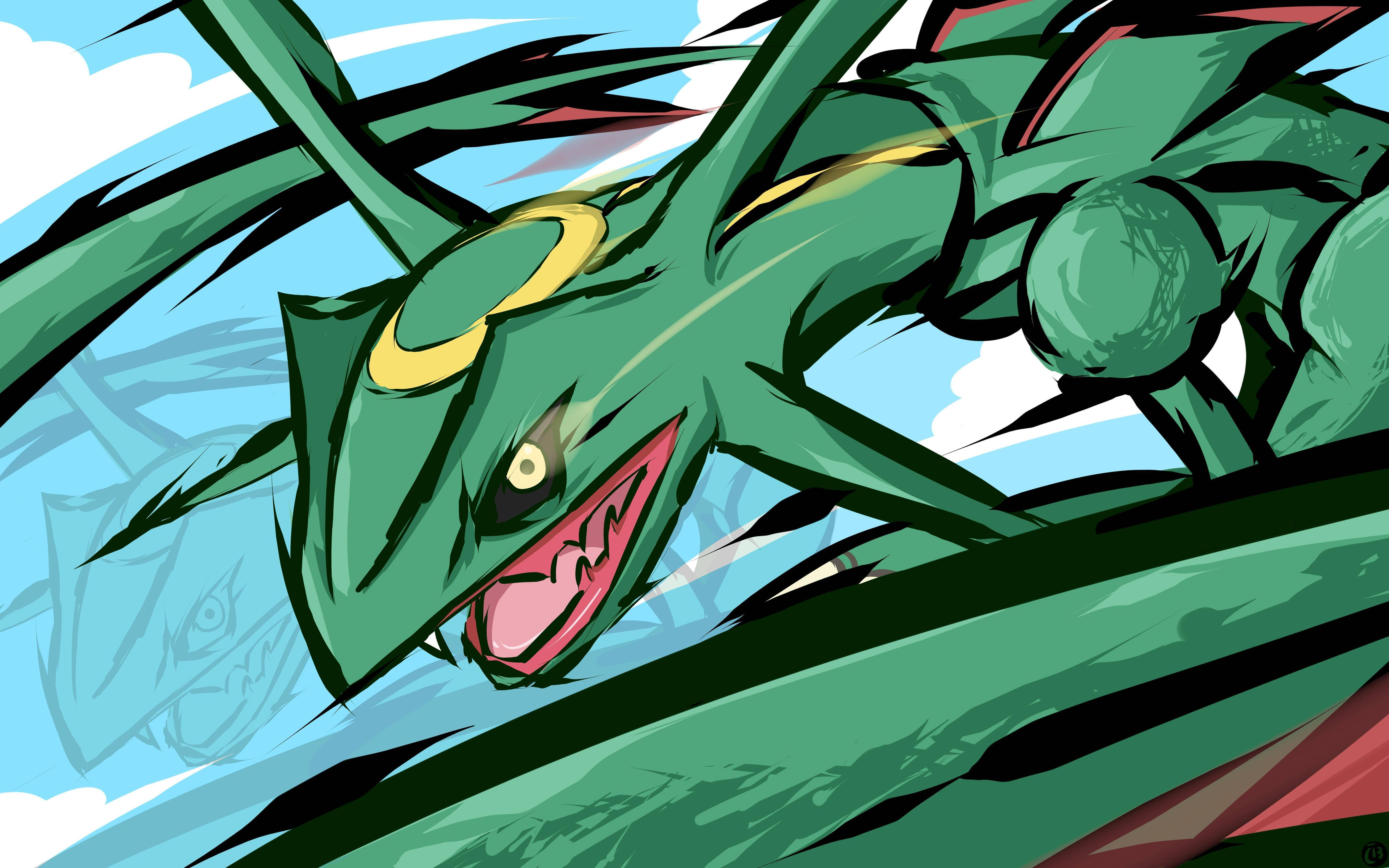 emerald rayquaza wallpapers - photo #22