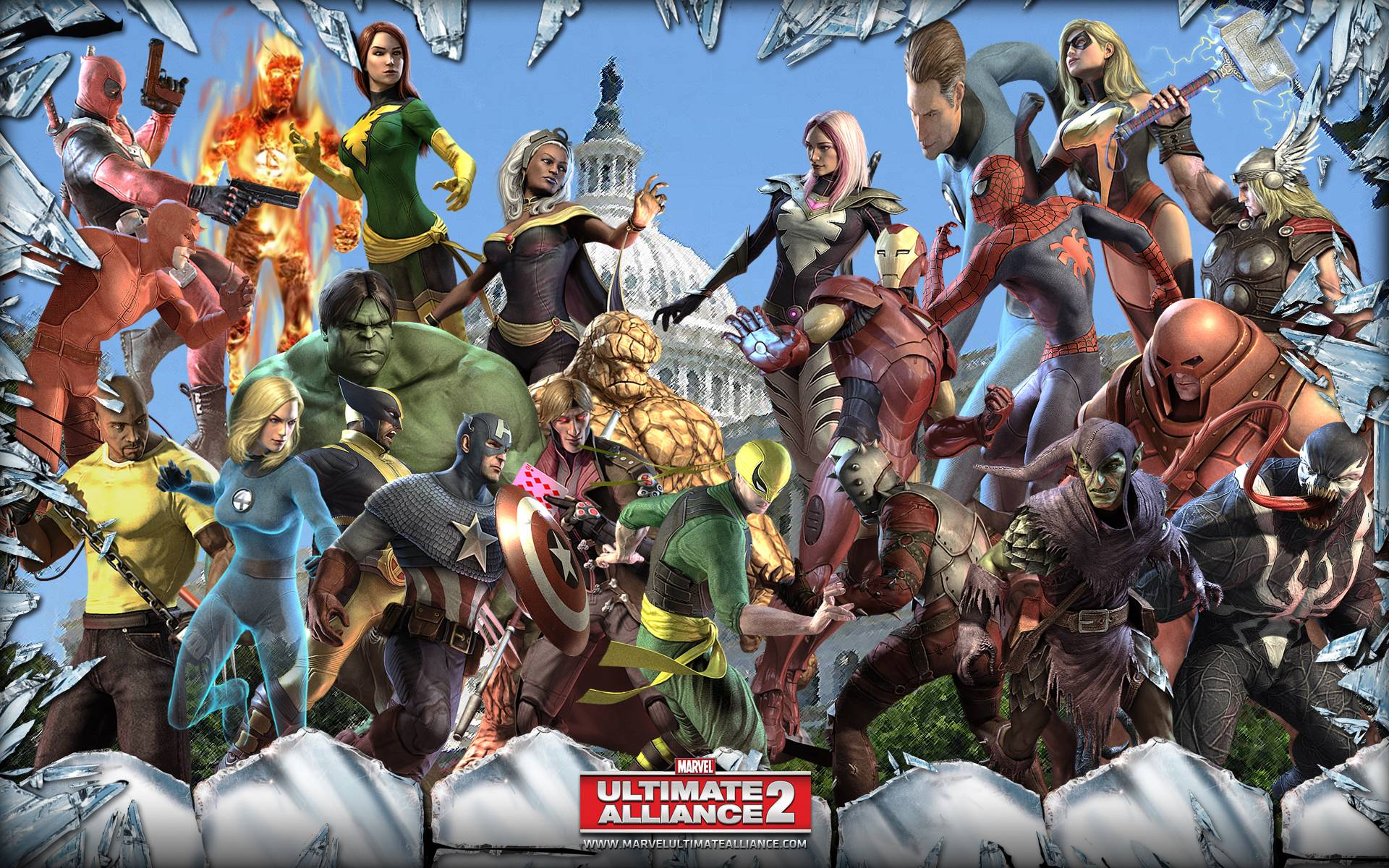 wallpaper alliance ultimate - photo #8