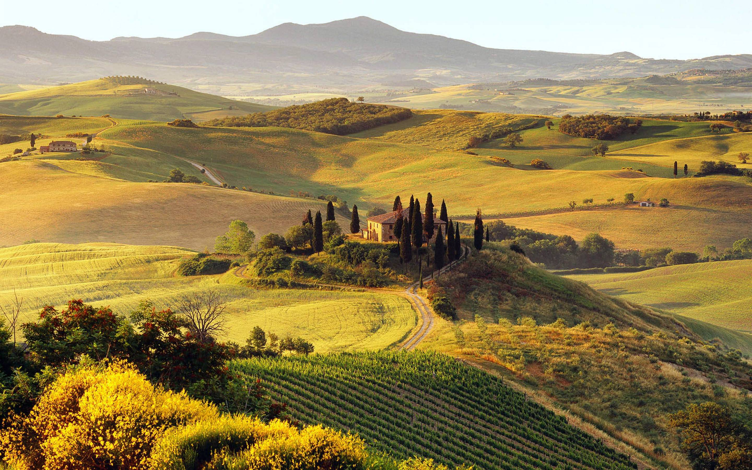 Daily Wallpaper: Tuscany, Italy | I Like To Waste My Time