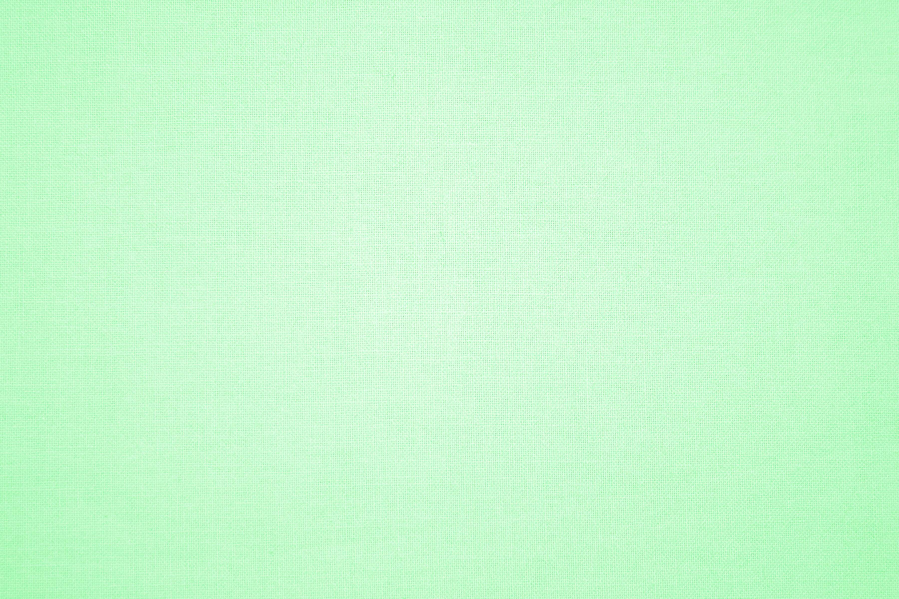 Pastel Green Canvas Fabric Texture Picture Free Photograph
