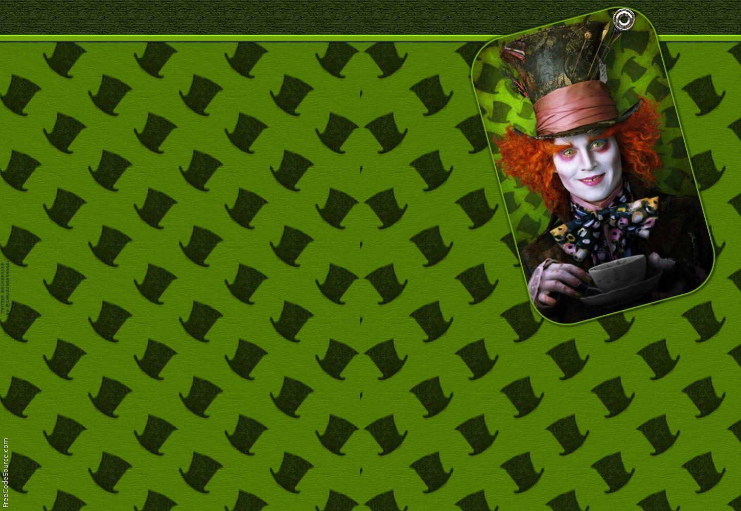 Mad Hatter Wallpapers - Wallpaper Cave