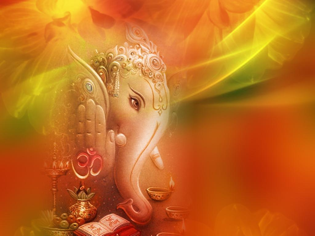 Ganesh Backgrounds - Wallpaper Cave Indian Religious Background