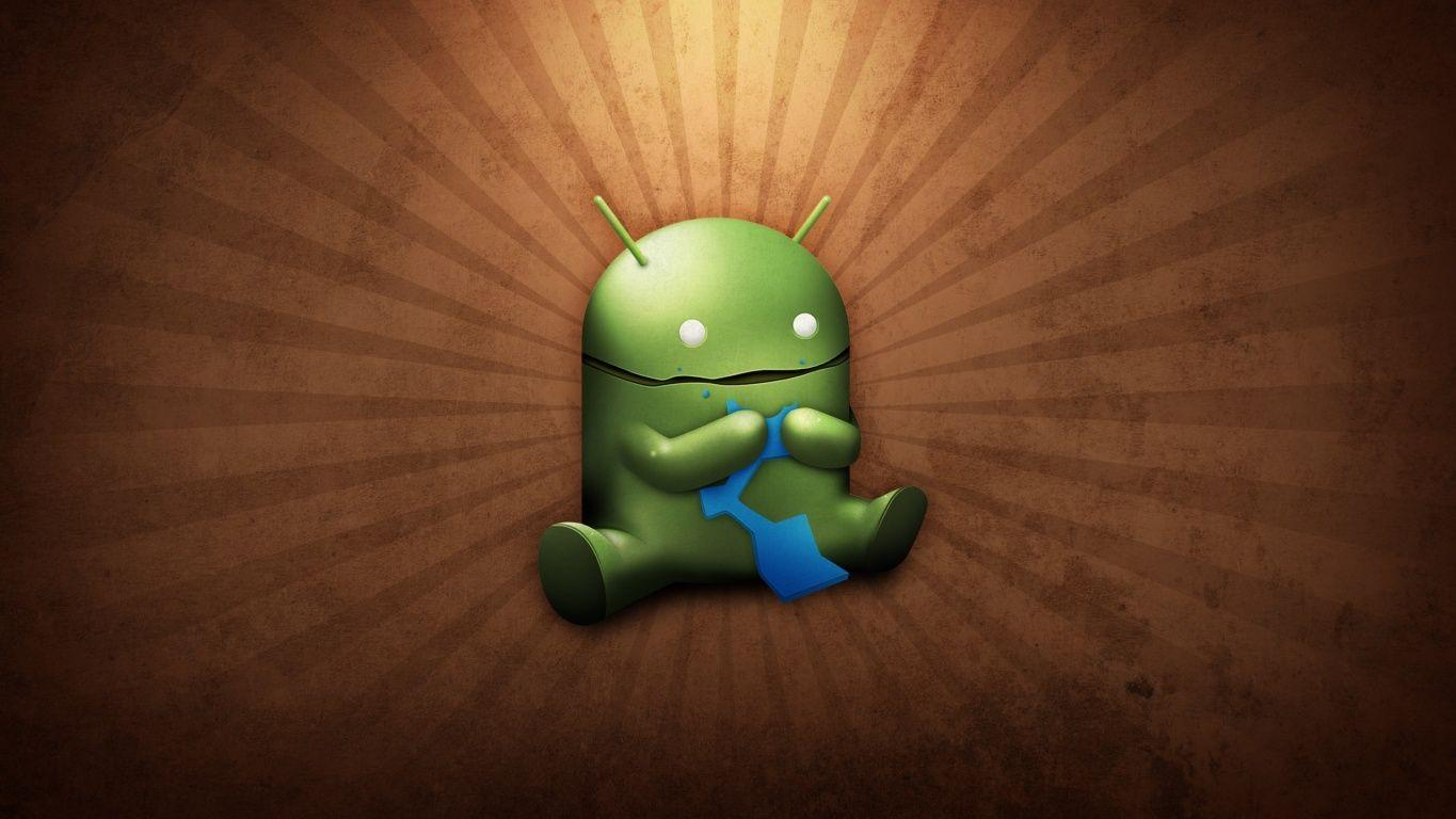 Funny Android desktop wallpapers
