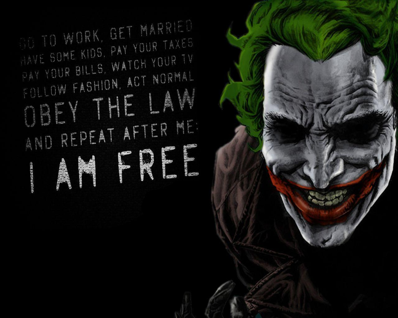 Joker Comic Wallpapers...