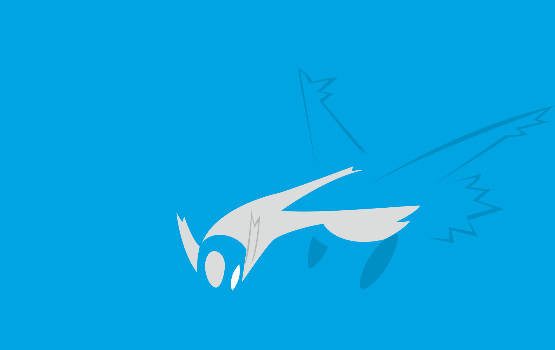 Pix For > Latios Wallpaper