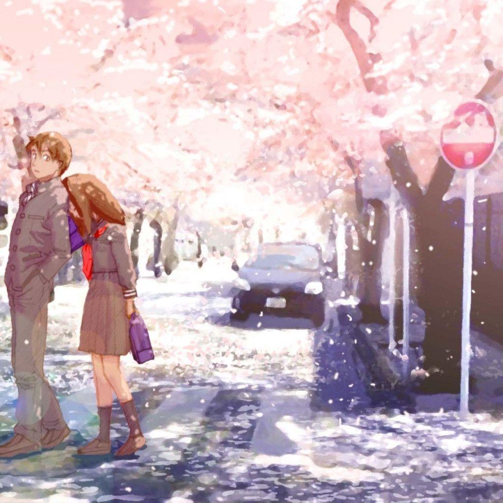 romantic anime wallpaper - photo #15