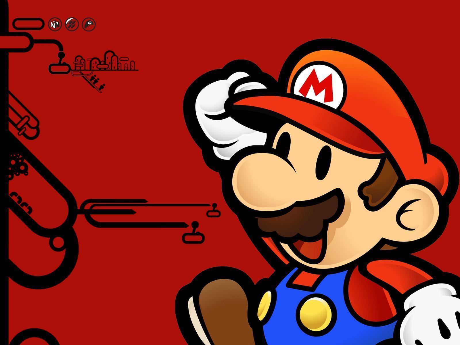 Paper Mario Computer Wallpapers, Desktop Backgrounds 1600x1200 Id ...