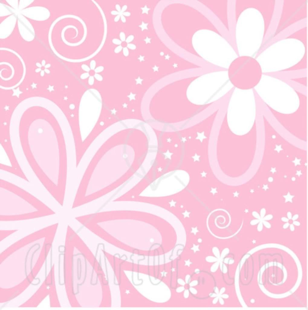 white and pink wallpaper - photo #35