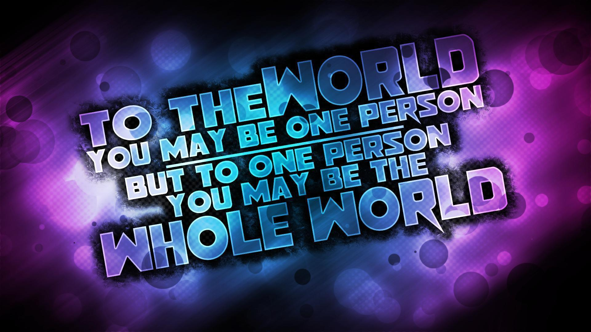 Ultra Love Quote Free Wallpaper #6054 Wallpaper computer best ...