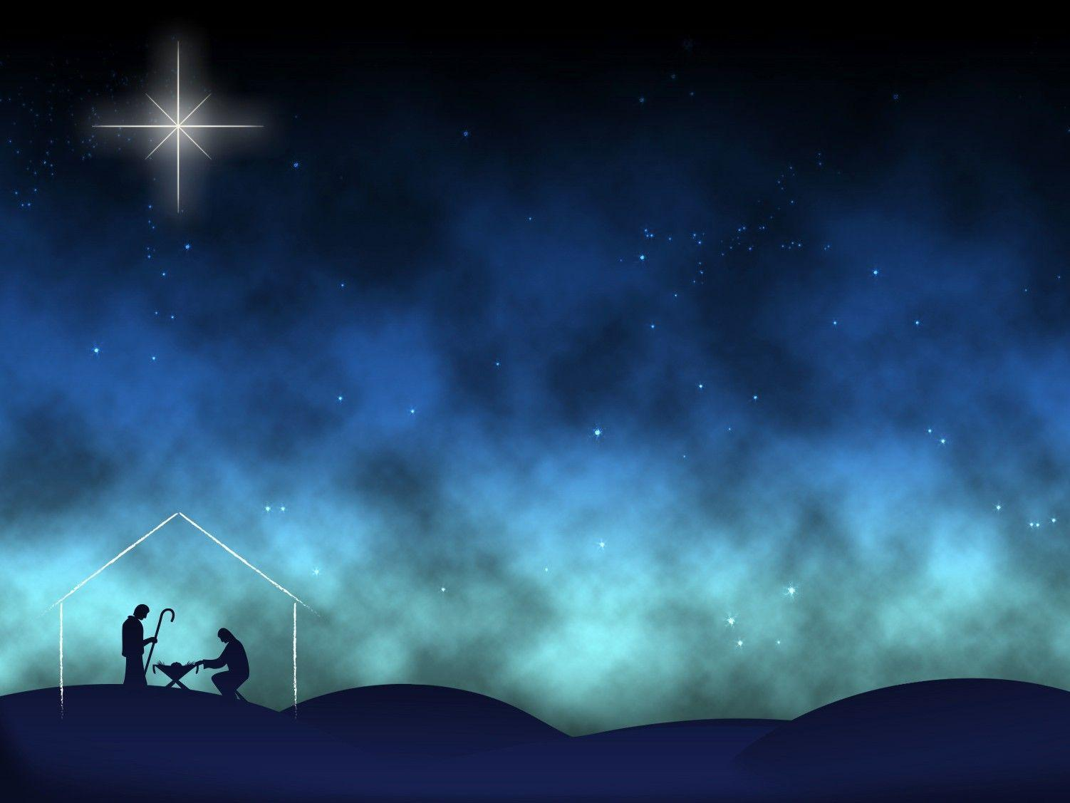 christmas nativity backgrounds wallpaper cave