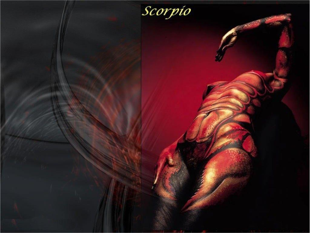 Scorpio 3D Abstract Wallpapers