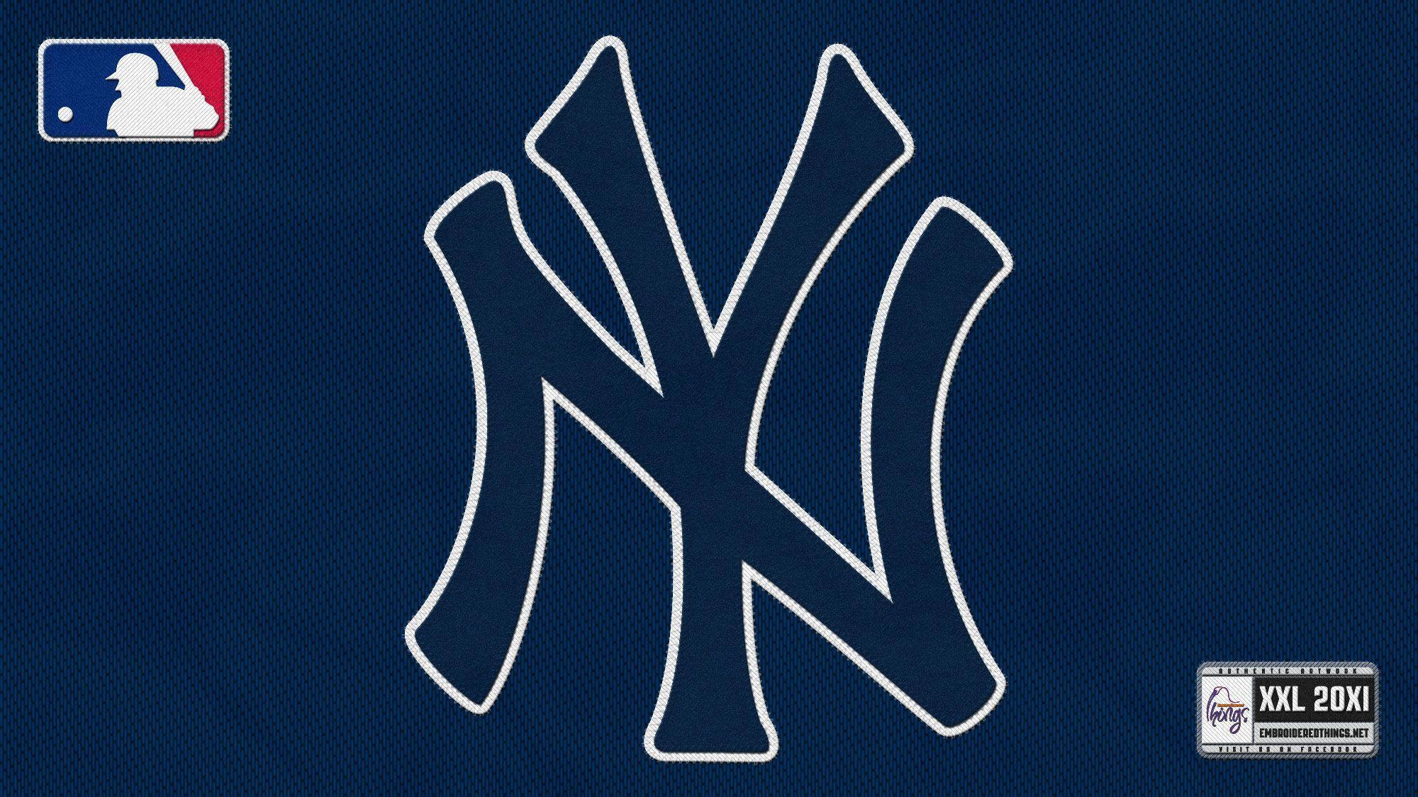 new york yankees logo wallpapers wallpaper cave