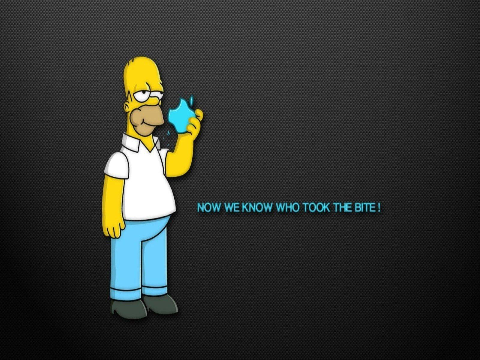 Simpsons Mac Wallpapers Wallpaper Cave